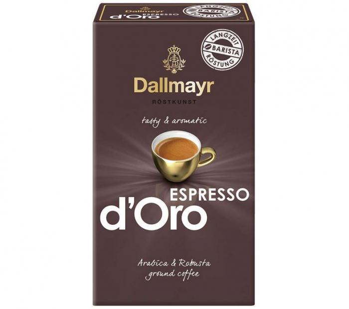 DALLMAYR Espresso D'oro Cafea Macinata 250g [0]