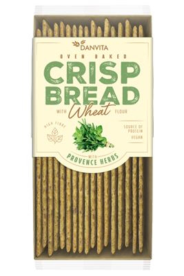 DANVITA Pâine Crocantă din Făină de Grâu cu Ierburi de Provence 130g [0]