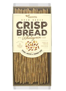 DANVITA Pâine Crocantă din Făină de Grâu cu Seminte 130g [0]