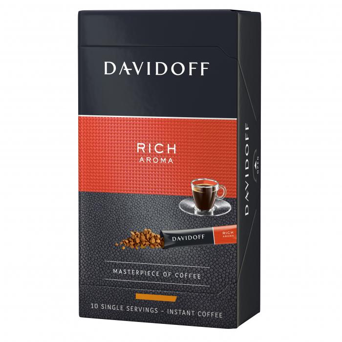 DAVIDOFF Rich Aroma Cafea Instant Sticks Cutie 10x1.8g [0]