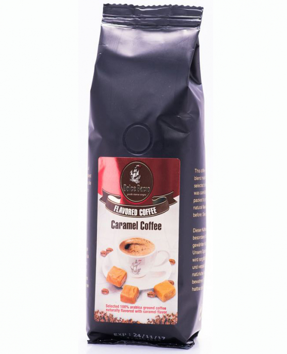 DOLCE BACIO Caramel Cafea Macinata 125g [0]