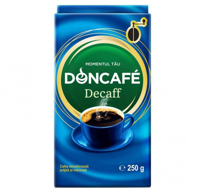 DONCAFE Cafea Macinata Decofeinizata 250g [0]