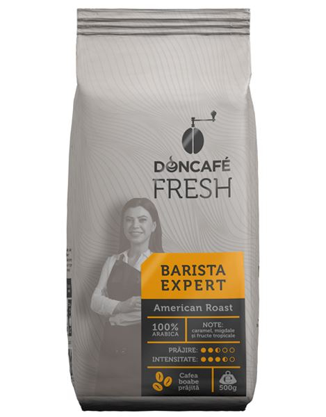DONCAFE Fresh Barista Expert American Roast Cafea Boabe 500g [0]