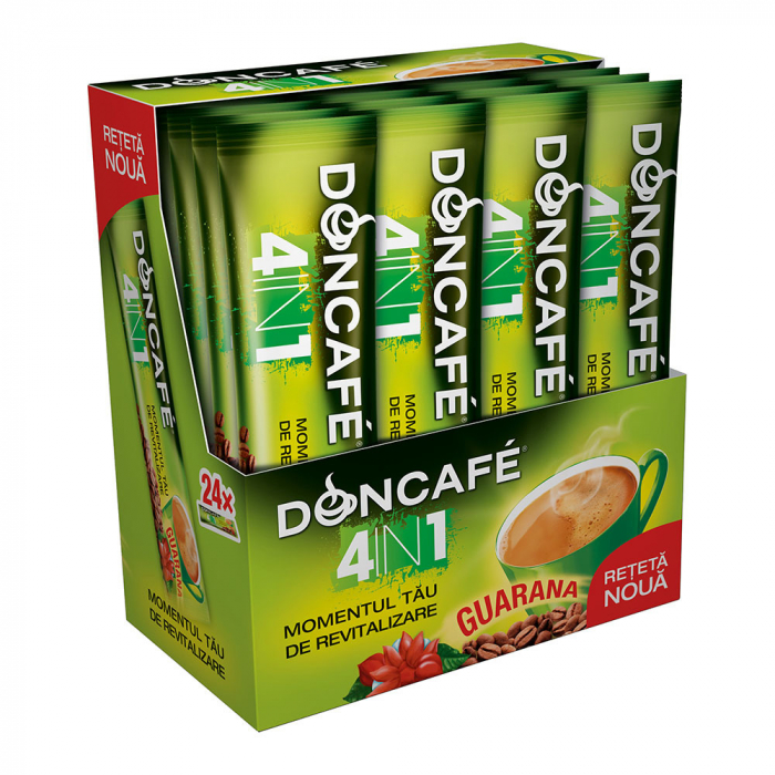 DONCAFE Guarana Mix 4in1 Cafea Instant Plic 24x13g [0]