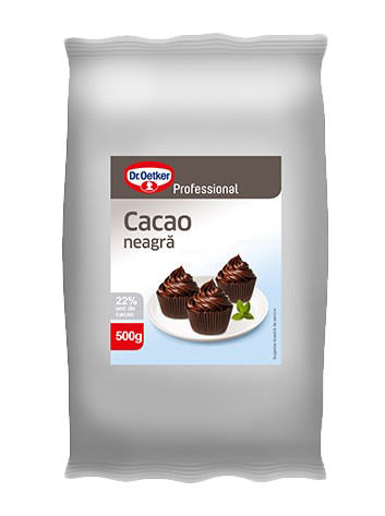 DR OETKER Professional Cacao Neagra 22% 500g [0]