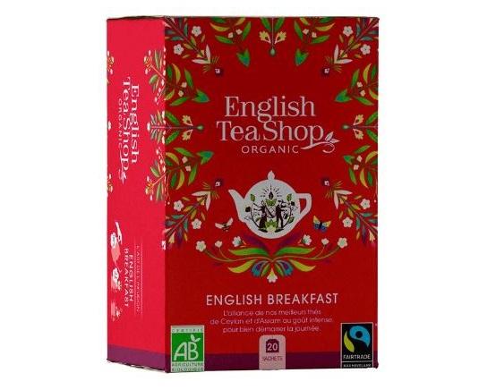ENGLISH TEA SHOP Ceai Bio Organic English Breakfast 20buc [0]