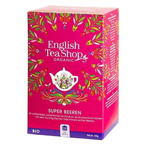 ENGLISH TEA SHOP Ceai Bio Organic Super Berries 20buc [0]