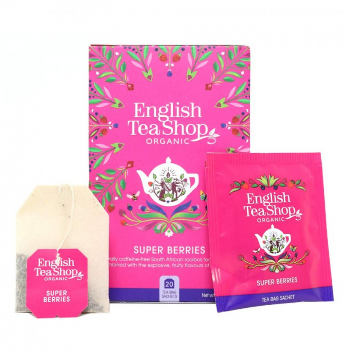 ENGLISH TEA SHOP Ceai Bio Organic Super Berries 20buc [1]