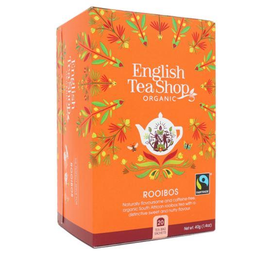 ENGLISH TEA SHOP Ceai Bio Organic Super Goodness Rooibos 20buc [0]