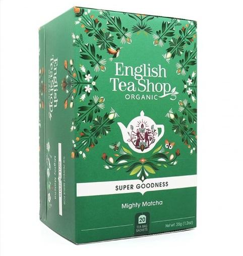ENGLISH TEA SHOP Ceai Bio Organic Super Goodness Mighty Matcha 20buc [0]