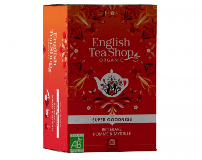 ENGLISH TEA SHOP Ceai Bio Organic Super Goodness Sfecla 20buc [0]