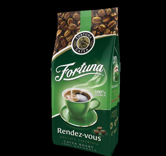 FORTUNA Rendez-Vous Cafea Boabe 100% Arabica 1Kg [0]