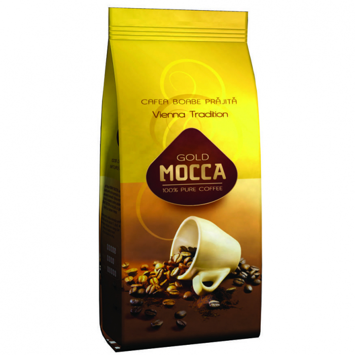 GOLD MOCCA Vienna Cafea Boabe 1kg [0]