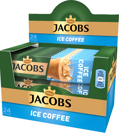 JACOBS Ice Coffee Mix Cafea Instant Plic 24buc [0]