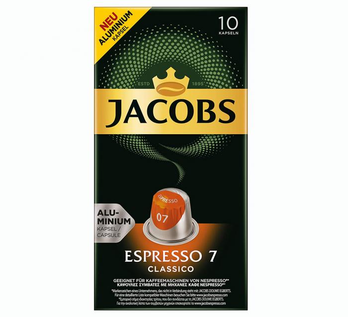 JACOBS Capsule Espresso 7 Classico 10buc [0]