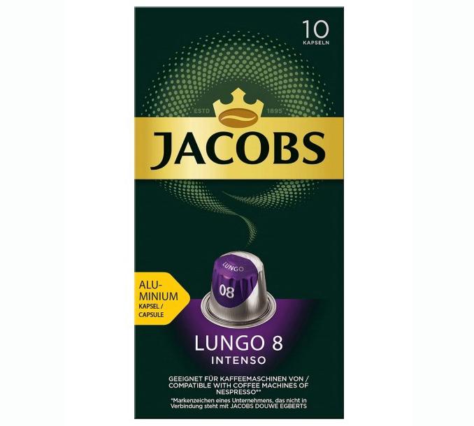 JACOBS Capsule Lungo 8 Classico 10buc [0]
