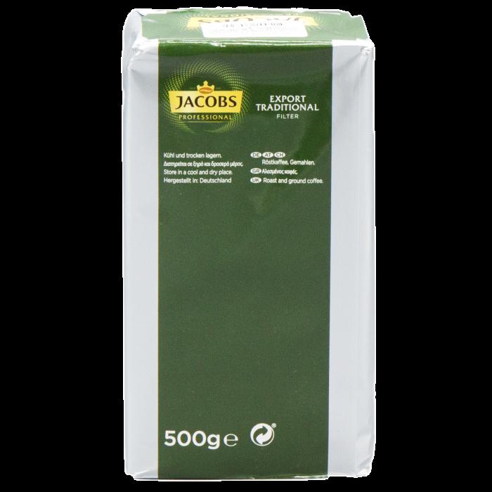 JACOBS Export Traditional Filter Cafea Macinata 500g [4]