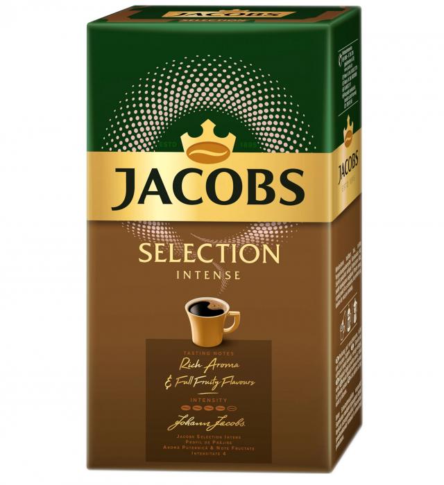 JACOBS Selection Intense Cafea Macinata 250g [0]