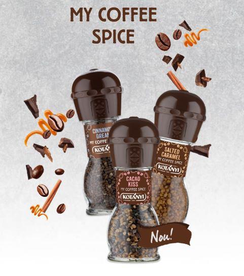 KOTANYI Rasnita Condimente pentru Cafea Cacao Kiss 63g [1]