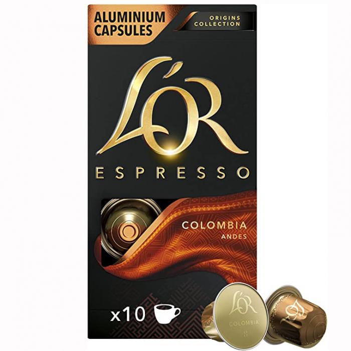 L'OR Capsule Espresso Colombia 10buc 52g [0]