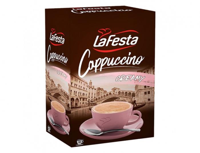 LA FESTA Cappuccino cu Gust de Frisca 10x12,5g [2]