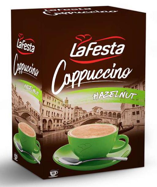 LA FESTA Cappuccino cu Gust de Alune 10x12,5g [2]