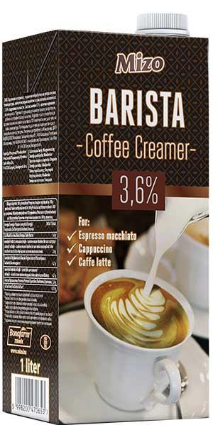 MIZO Barista Lapte Pentru Cafea 3.6% 1L [0]