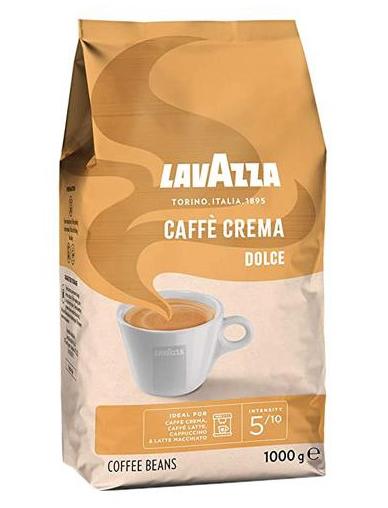 LAVAZZA Caffe Crema Dolce Cafea Boabe 1Kg [1]