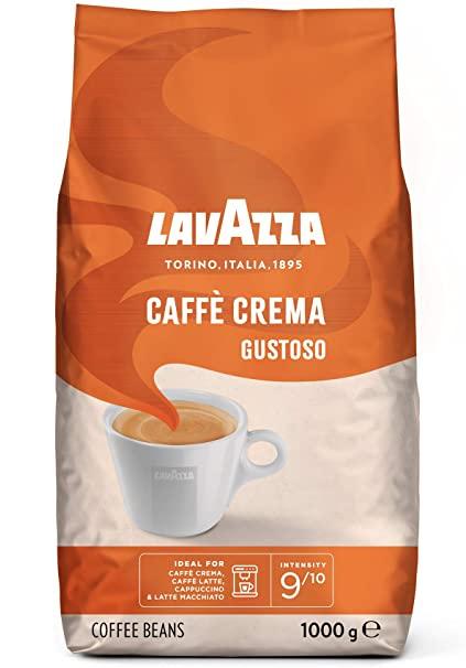 LAVAZZA Caffe Crema Gustoso Cafea Boabe 1Kg [0]