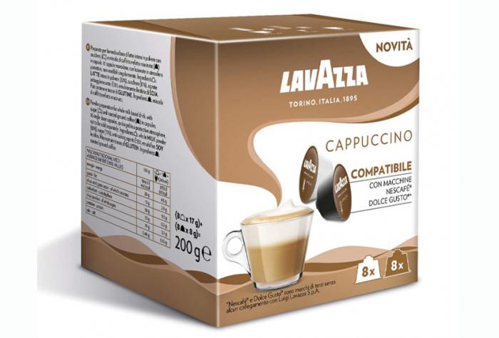 LAVAZZA Cappuccino Capsule Dolce Gusto 16buc 8 bauturi [0]