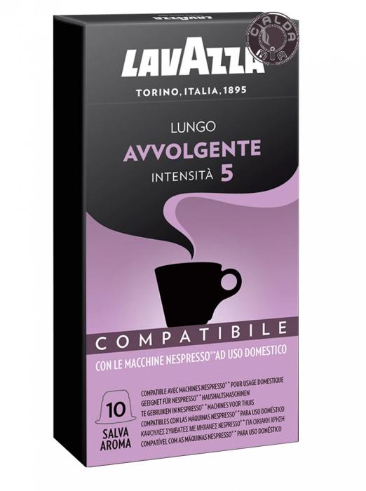 LAVAZZA Lungo Avvolgente Capsule Nespresso 10buc 55g [1]