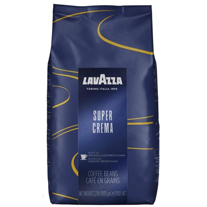 LAVAZZA Super Crema Cafea Boabe 1kg [0]