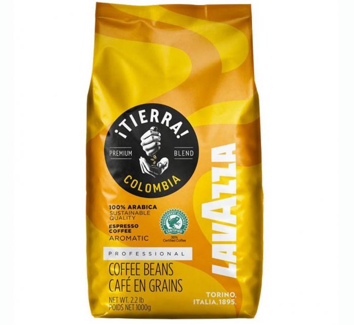 LAVAZZA ITierra Colombia Cafea Boabe 1kg [0]