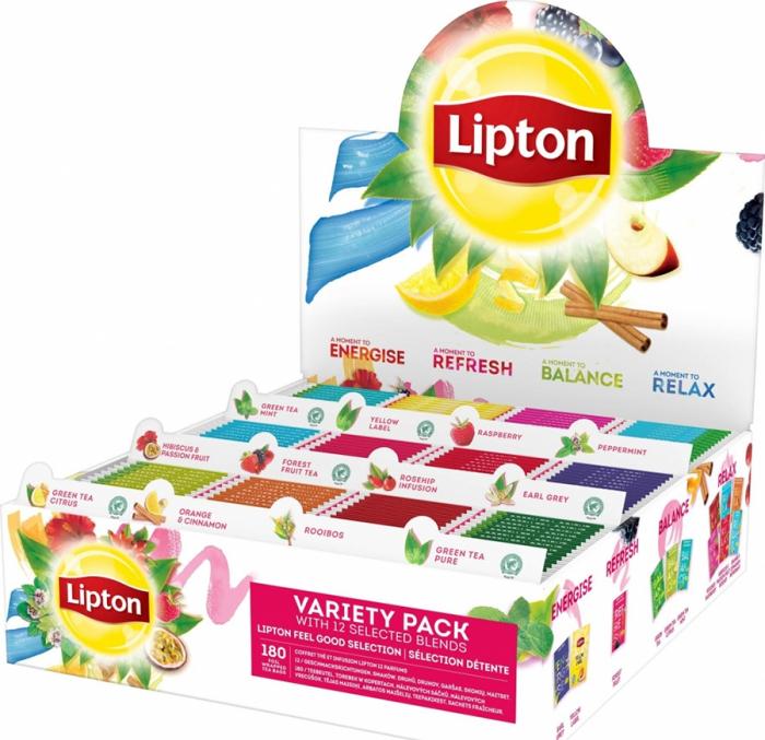 LIPTON Mix de Ceai Variety Pack 180 Plicuri [1]