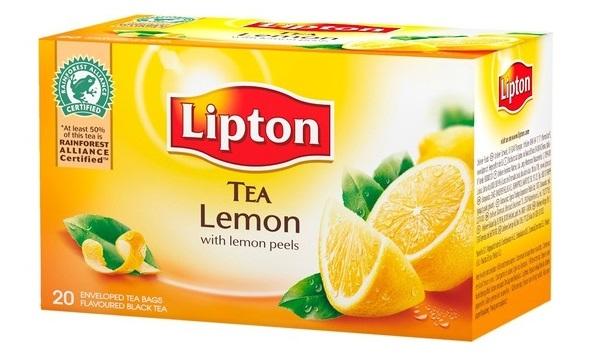 LIPTON Ceai Negru cu Lamai 20buc [0]