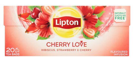 LIPTON Cherry Love Ceai cu Fructe 20 Plicuri [0]