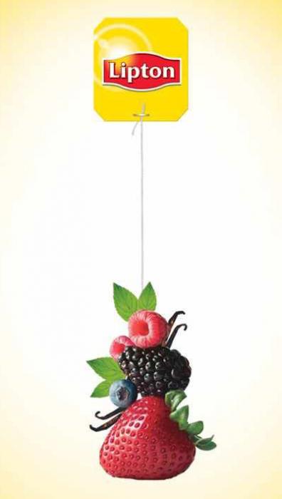 LIPTON Refresh Ceai Negru cu Fructe de Padure 25 plicuri [4]