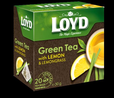 LOYD Ceai Verde cu Lamaie & Lemongrass 20x2g [0]