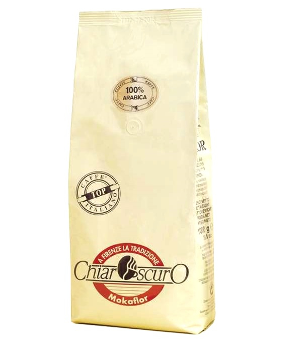 MOKAFLOR CHIAROSCURO 100% Arabica Cafea Boabe 1Kg [0]