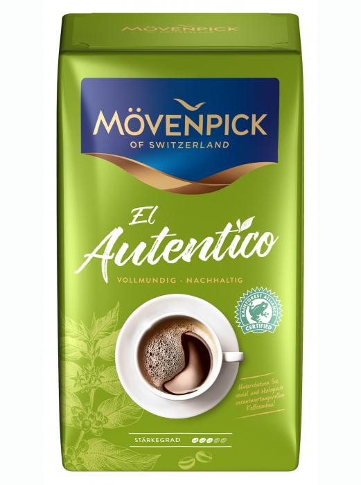 MOVENPICK Caffe El Autentico Cafea Boabe 1kg [1]