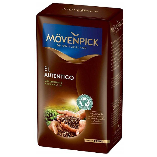 MOVENPICK El Autentico Cafea Macinata 500g [1]
