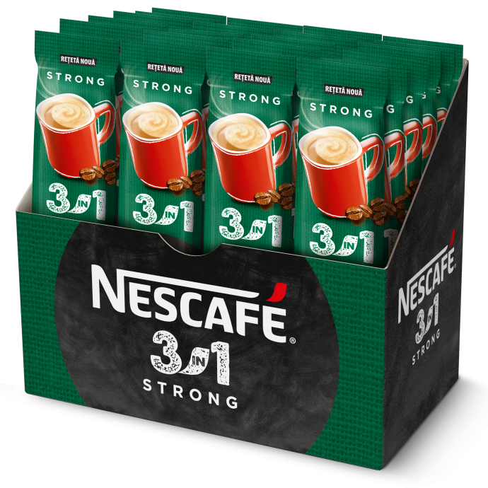 NESCAFE 3in1 Strong Cafea Instant Plic 24x15g [0]