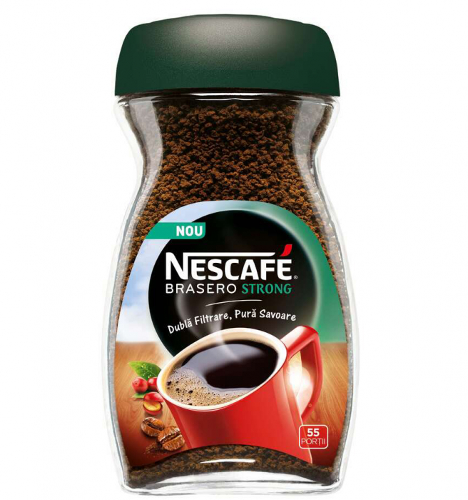 NESCAFE Brasero Strong Cafea Solubila Instant bo. 100g [0]