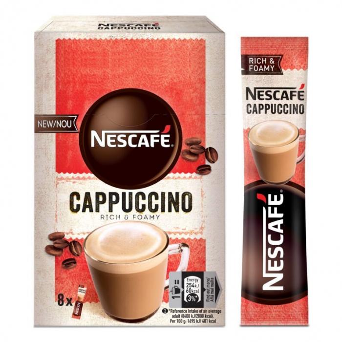 NESCAFE Cappuccino Instant Plic 8x15g [2]