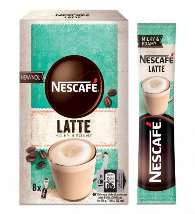 NESCAFE Latte Cappuccino Instant Plic 8x15g [2]