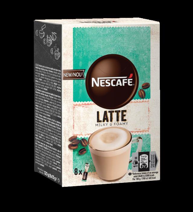 NESCAFE Latte Cappuccino Instant Plic 8x15g [0]