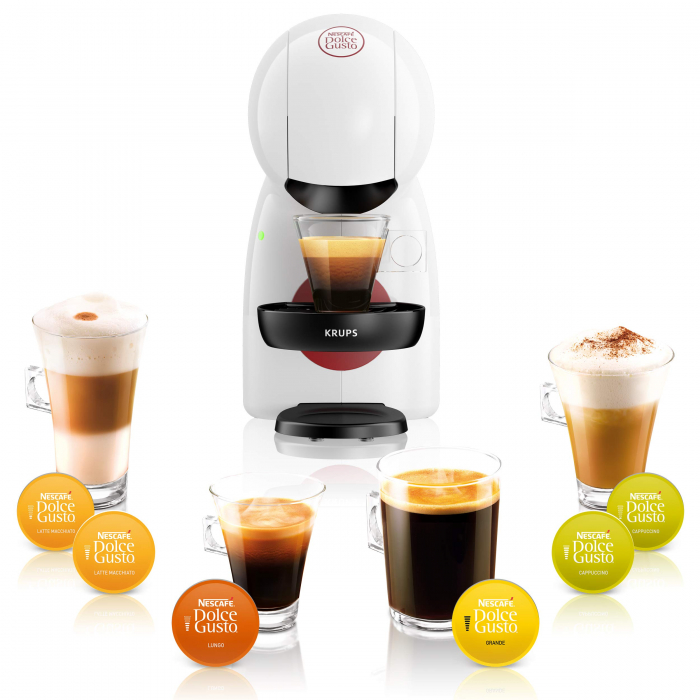 Pachet 12 cutii Capsule Cafea NESCAFE Dolce Gusto + Cadou Espressor NESCAFE Piccolo XS [2]