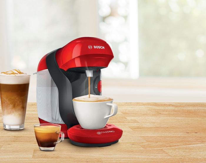 Pachet 12 cutii Capsule Cafea Tassimo + Cadou Espressor Bosch Tassimo Vivy II [5]