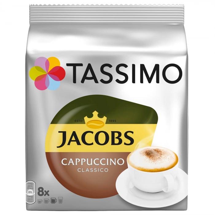 Pachet 12 cutii Capsule Cafea Tassimo + Cadou Espressor Bosch Tassimo Vivy II [11]
