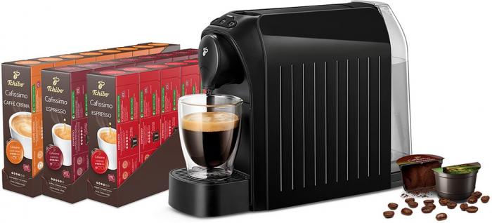 Pachet 12 cutii Capsule Cafea TCHIBO Cafissimo + Cadou Espressor TCHIBO Cafissimo Easy [2]